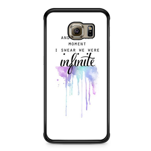 The Perks of Being a Wallflower Quote Samsung Galaxy S6 Edge case