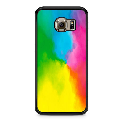 Rainbow Tie Dye Samsung Galaxy S6 Edge case