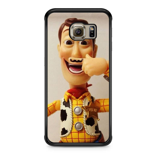 Woody Mustache Toy Story Samsung Galaxy S6 Edge case
