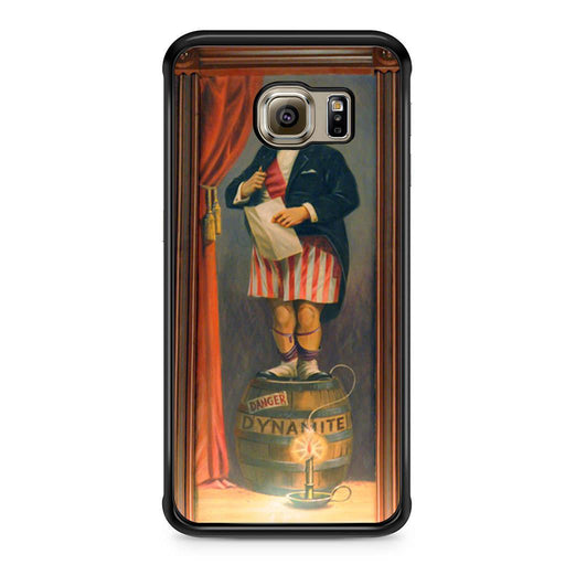 The Haunted Mansion Stretching Painting Dynamite Samsung Galaxy S6 Edge case