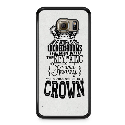 You Should See Me In A Crown Moriarty Quote Samsung Galaxy S6 Edge case