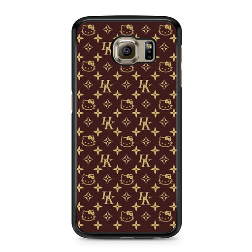 Louis Vuitton Hello Kitty Samsung Galaxy S6 case