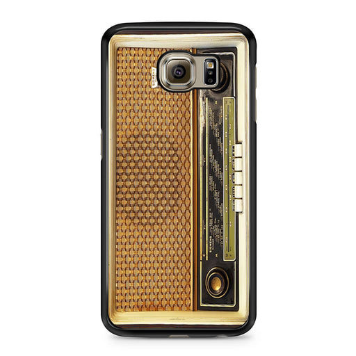 Retro Vintage Old Radio Samsung Galaxy S6 case