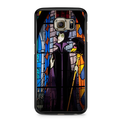 Maleficent Stained Glass Samsung Galaxy S6 case