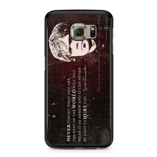Tyrion Lannister Quote Samsung Galaxy S6 case