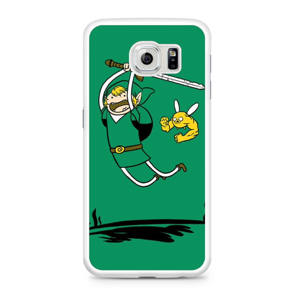 Zelda Adventure Time Zelda Finn and Jake Samsung Galaxy S6 case