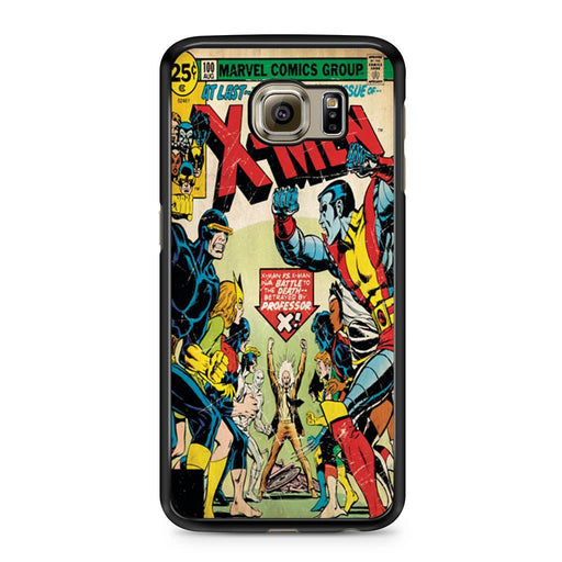 X-Men Retro Comic Book Samsung Galaxy S6 case