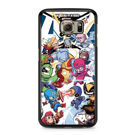 Young Marvel Avengers X-Men Babies Samsung Galaxy S6 case