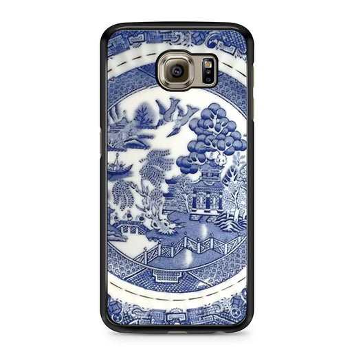 Blue Willow China Pattern Samsung Galaxy S6 case