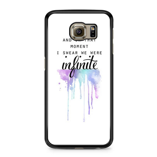 The Perks of Being a Wallflower Quote Samsung Galaxy S6 case