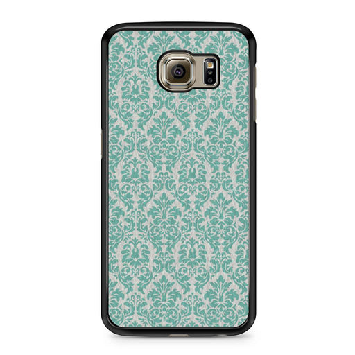 Teal Damask Samsung Galaxy S6 case