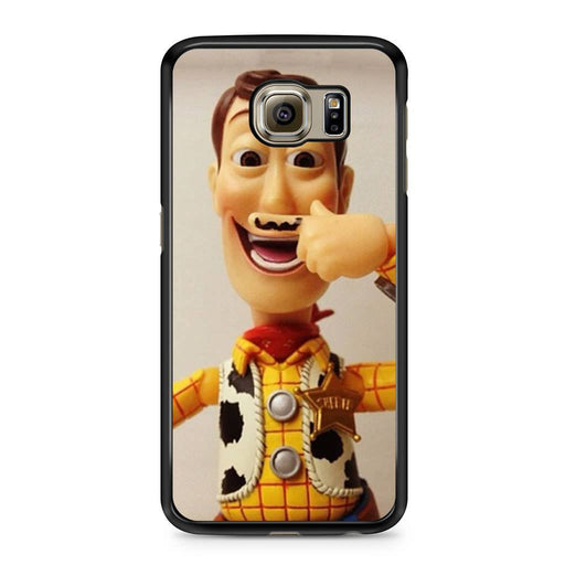 Woody Mustache Toy Story Samsung Galaxy S6 case