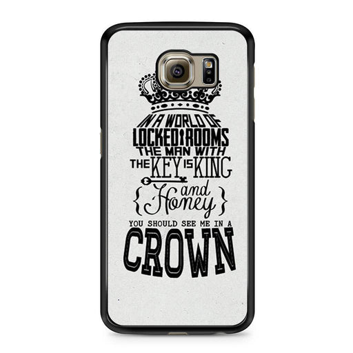 You Should See Me In A Crown Moriarty Quote Samsung Galaxy S6 case