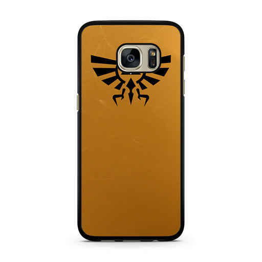 Zelda Triforce Golden Samsung Galaxy S7 case