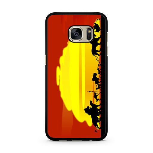 The Lion King Sunset Hakuna Matata Samsung Galaxy S7 case