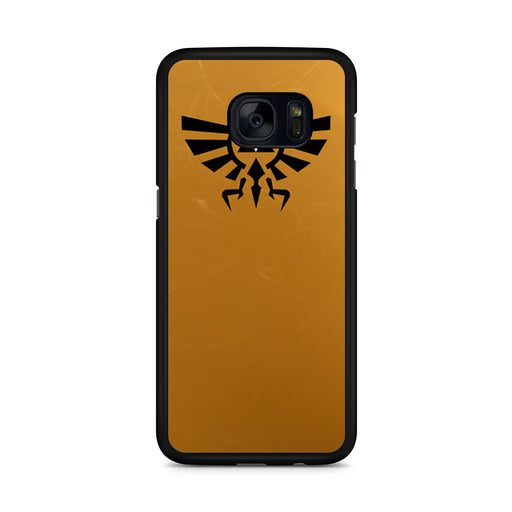 Zelda Triforce Golden Samsung Galaxy S7 Edge case