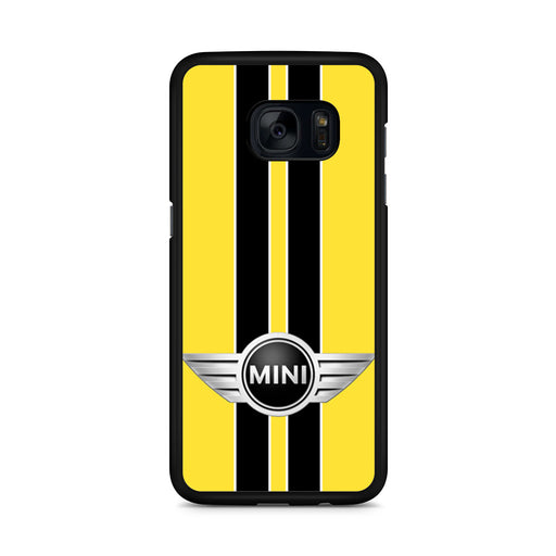 Mini Cooper Style Yellow Samsung Galaxy S7 Edge case