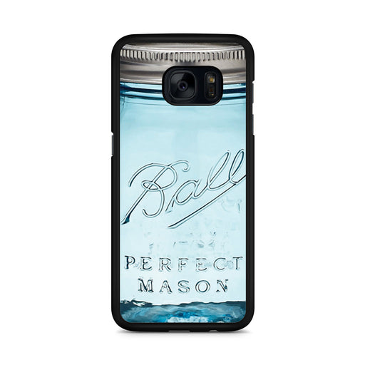 Mason Jar Samsung Galaxy S7 Edge case