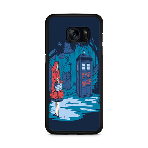 Tardis Dr Who Little Red Riding Hood Samsung Galaxy S7 Edge case