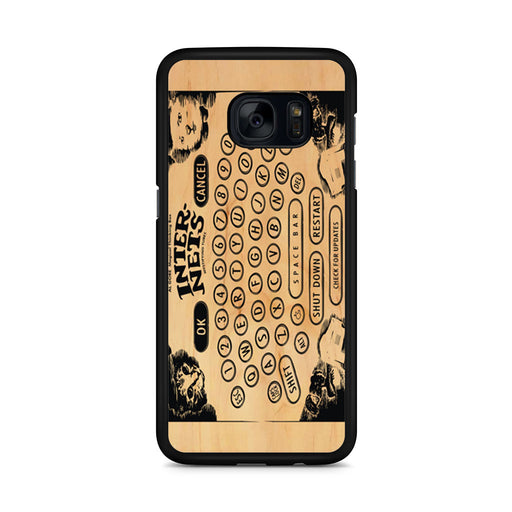 Ouija Board Steampunk Internet Samsung Galaxy S7 Edge case