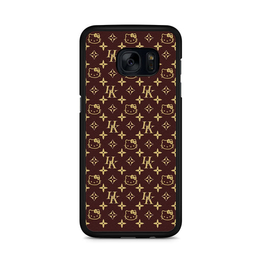 Louis Vuitton Hello Kitty Samsung Galaxy S7 Edge case