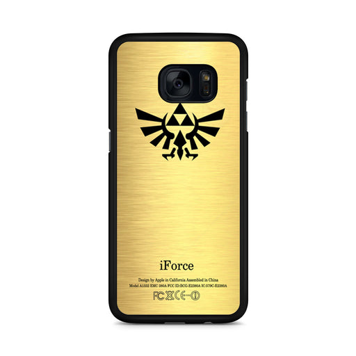 Eagle Triforce Gold Legend of Zelda Samsung Galaxy S7 Edge case