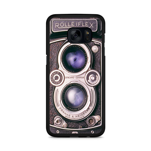 Vintage Rolleiflex camera Samsung Galaxy S7 Edge case
