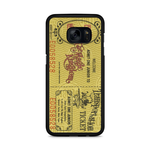 Transportation World Disney World Vintage Disneyland Samsung Galaxy S7 Edge case