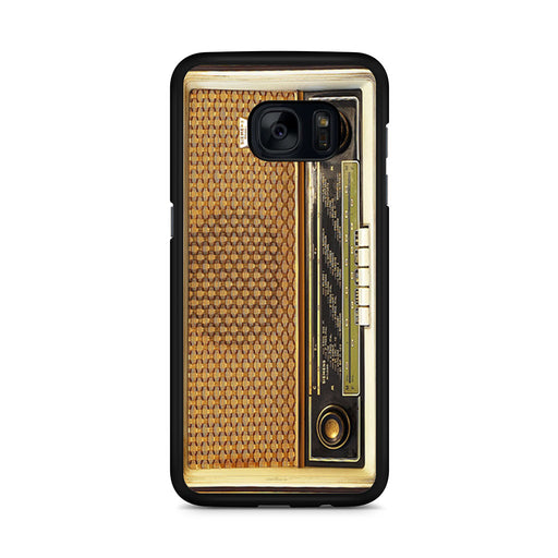Retro Vintage Old Radio Samsung Galaxy S7 Edge case