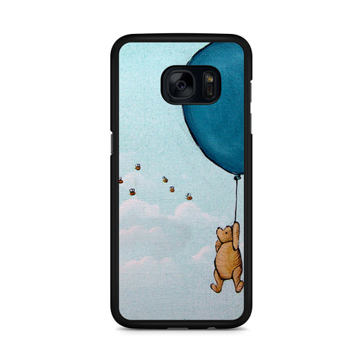 Vintage Winnie The Pooh Balloon Samsung Galaxy S7 Edge case