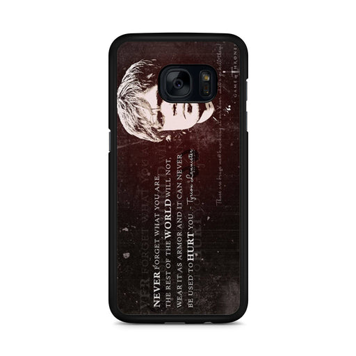 Tyrion Lannister Quote Samsung Galaxy S7 Edge case