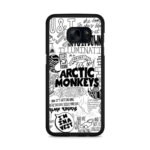 Arctic Monkeys Samsung Galaxy S7 Edge case