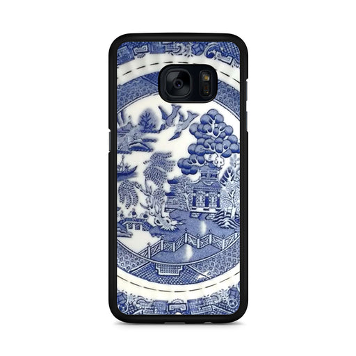 Blue Willow China Pattern Samsung Galaxy S7 Edge case