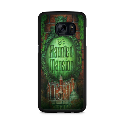 The Haunted Mansion Poster Samsung Galaxy S7 Edge case