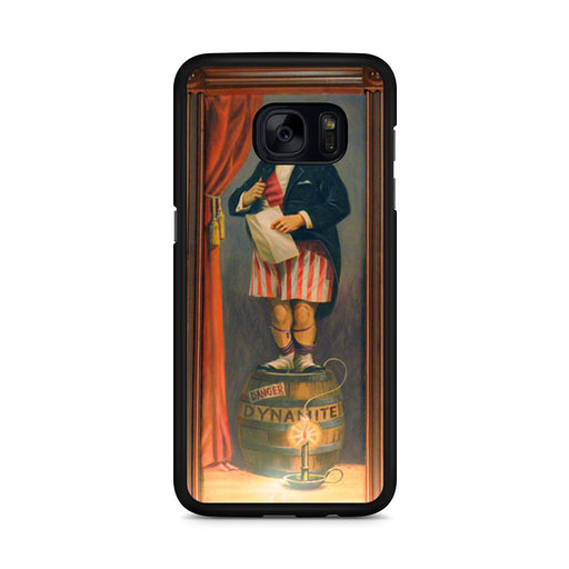 The Haunted Mansion Stretching Painting Dynamite Samsung Galaxy S7 Edge case