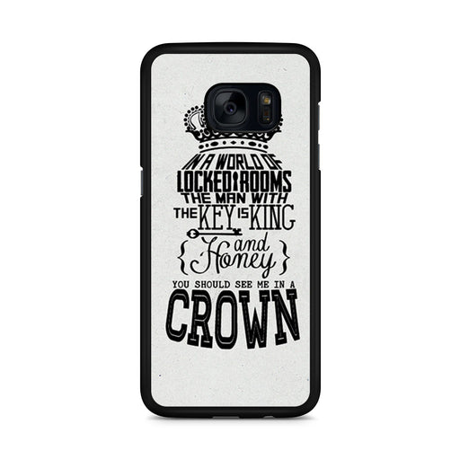 You Should See Me In A Crown Moriarty Quote Samsung Galaxy S7 Edge case