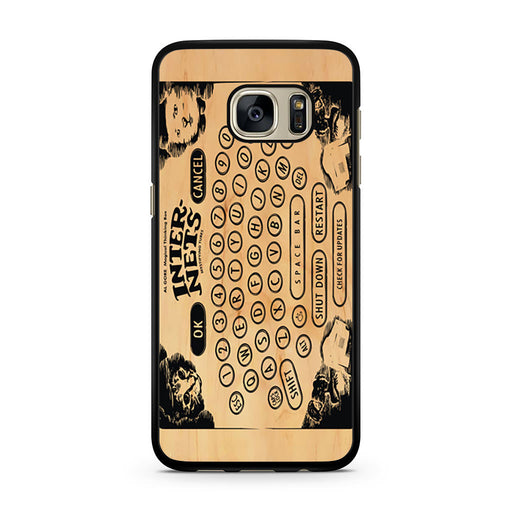 Ouija Board Steampunk Internet Samsung Galaxy S7 case
