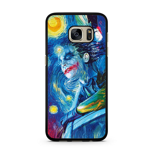 Joker Van Gogh Starry Night Samsung Galaxy S7 case