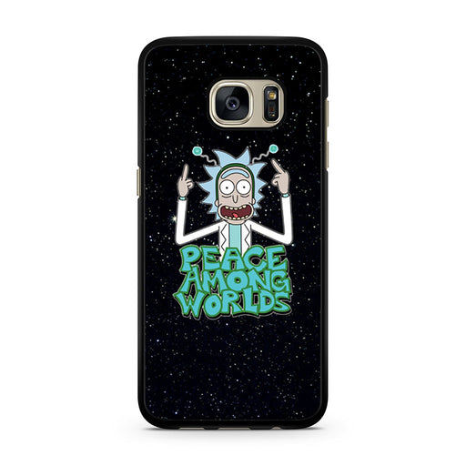 Rick Sanchez Morty Peace Among Worlds Samsung Galaxy S7 case