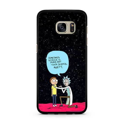 Rick and Morty Science Art Quote Samsung Galaxy S7 case