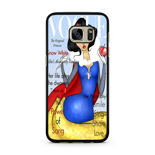 Vogue Snow White Samsung Galaxy S7 case