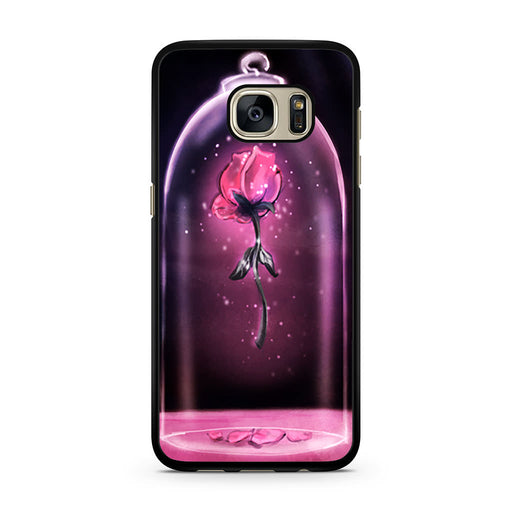 Rose Beauty and The Beast Samsung Galaxy S7 case