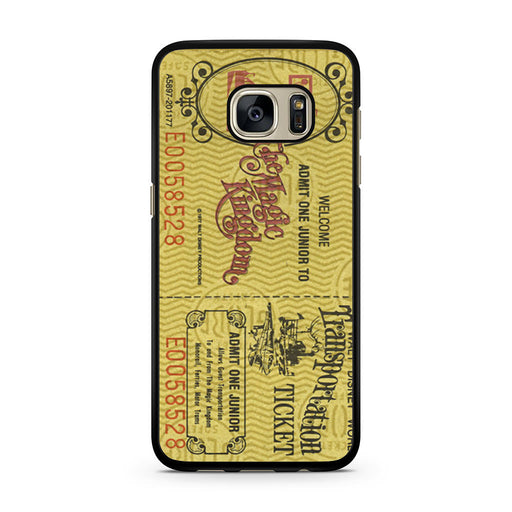 Transportation World Disney World Vintage Disneyland Samsung Galaxy S7 case
