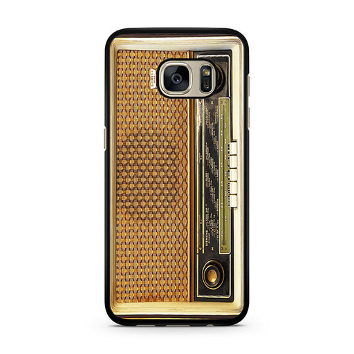 Retro Vintage Old Radio Samsung Galaxy S7 case