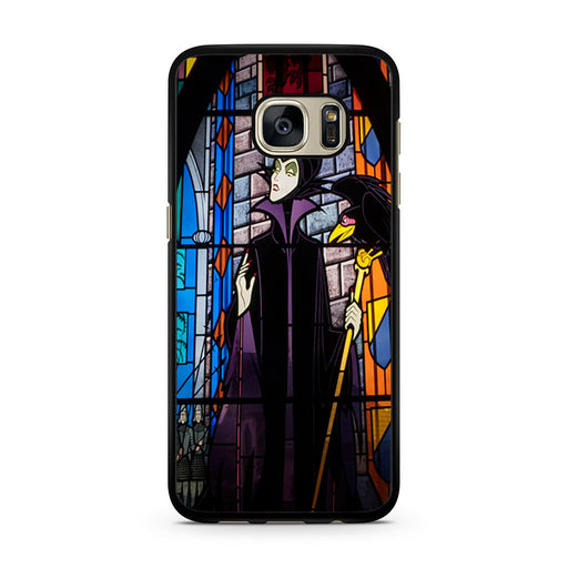 Maleficent Stained Glass Samsung Galaxy S7 case
