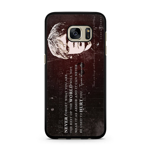 Tyrion Lannister Quote Samsung Galaxy S7 case