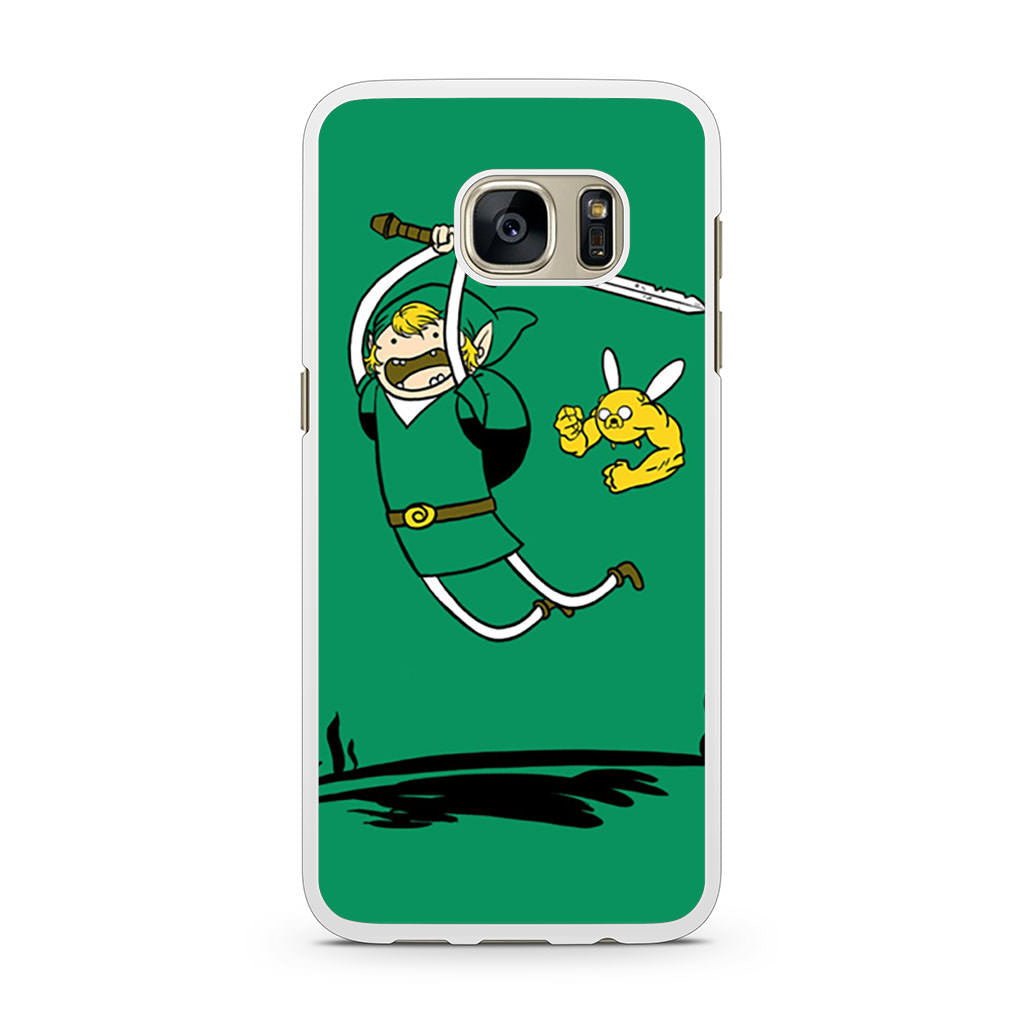 Zelda Adventure Time Zelda Finn and Jake Samsung Galaxy S7 case