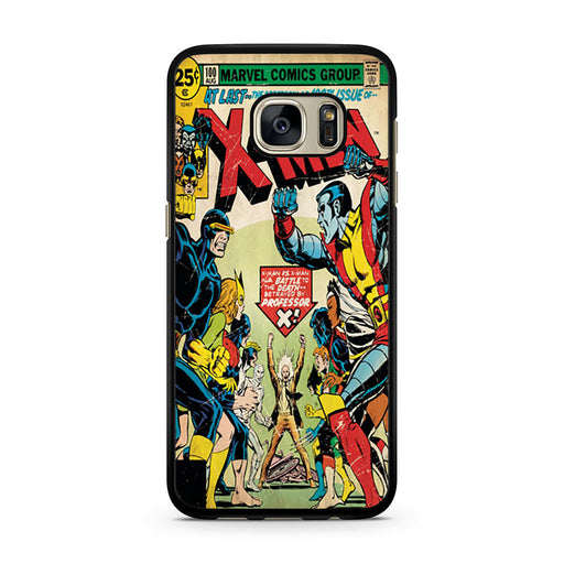 X-Men Retro Comic Book Samsung Galaxy S7 case