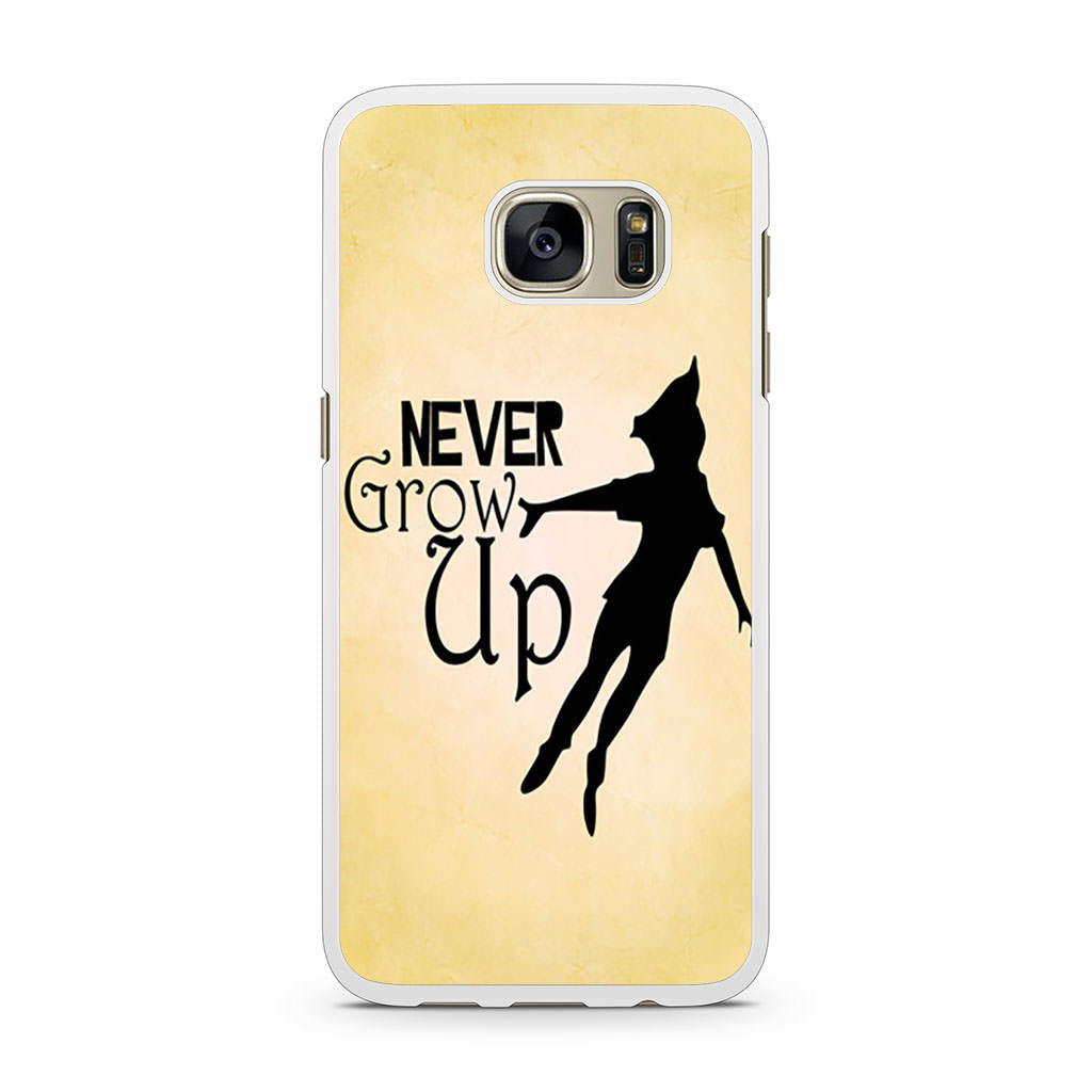 Peter Pan Never Grow Up Quote Samsung Galaxy S7 Case Case Persona
