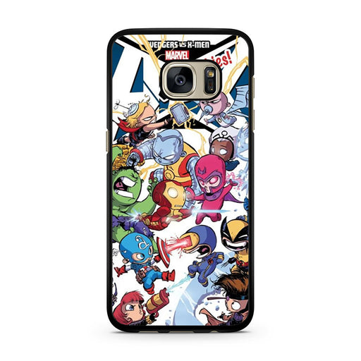 Young Marvel Avengers X-Men Babies Samsung Galaxy S7 case